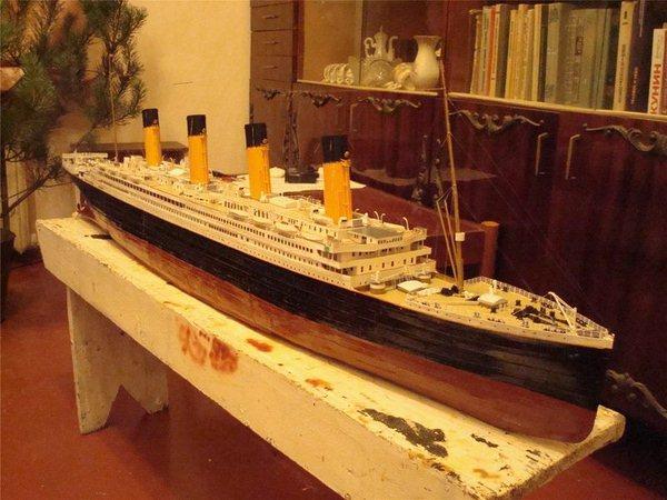 Как сделать корабль титаник из бумаги